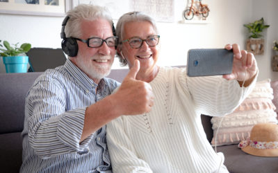 Technology Affords Seniors New Opportunities to Connect, Learn, And Have Fun